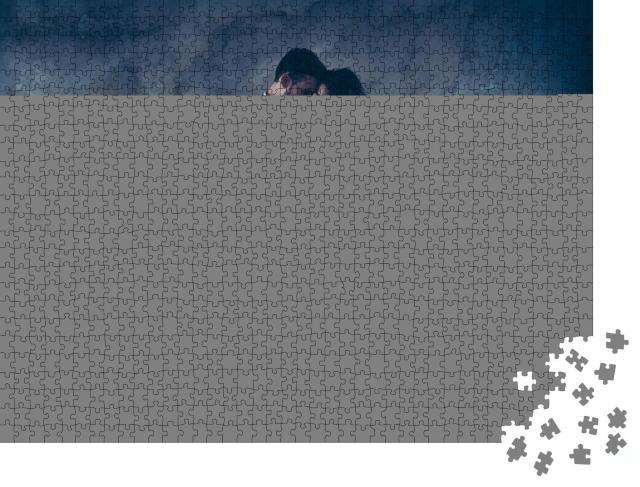 """Puzzle 1000 Teile """"Feuriger Tango, modern interpretiert"""""""