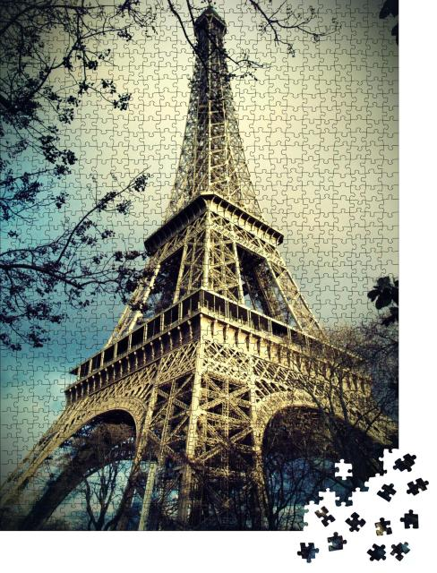 """Puzzle 1000 Teile """"Eiffelturm in Paris, Frankreich"""""""