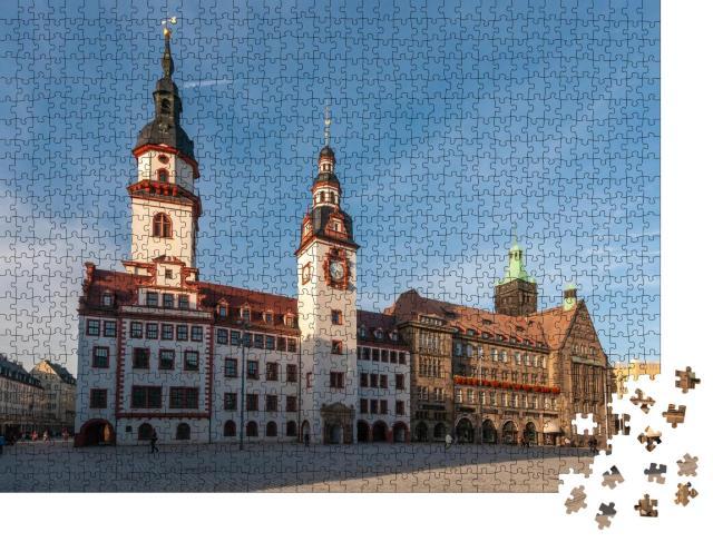 """Puzzle 1000 Teile """"Rathaus Chemnitz"""""""