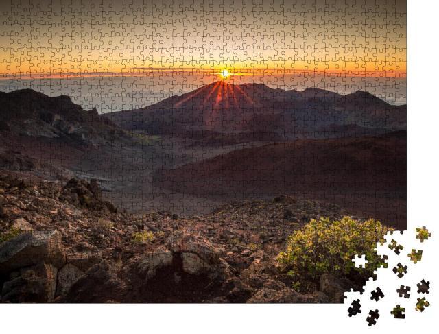 """Puzzle 1000 Teile """"Haleakala National Park auf Maui in Hawaii"""""""