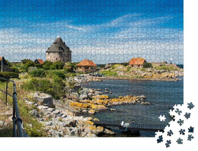 """Puzzle 1000 Teile """"Christianso: malerische dänische Insel in der Nähe von Bornholm in der Ostsee"""""""
