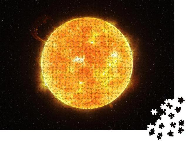 """Puzzle 1000 Teile """"Die Sonne. NASA-Bildmaterial"""""""