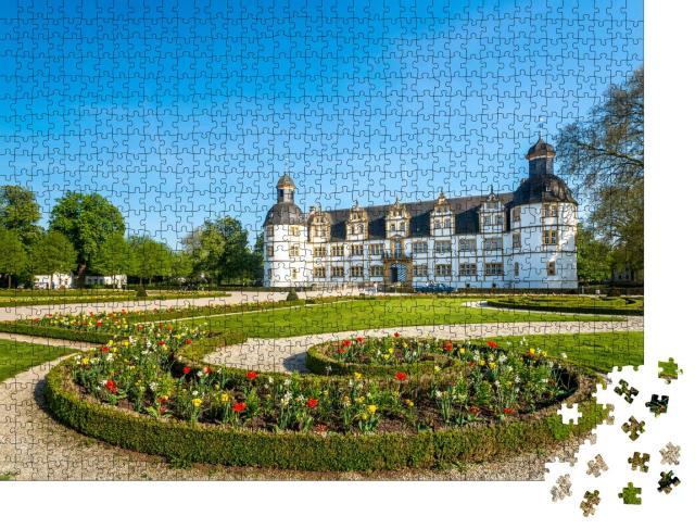 """Puzzle 1000 Teile """"Paderborn, Schloss Neuhaus, Deutschland"""""""