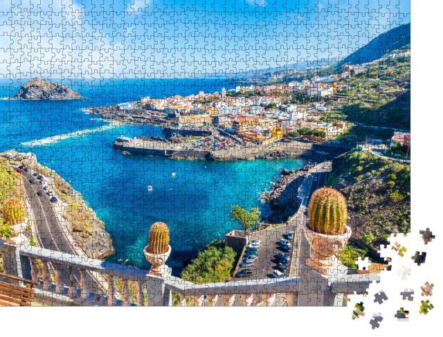 """Puzzle 1000 Teile """"Stadt von Teneriffa, Kanarische Inseln, Spanien"""""""