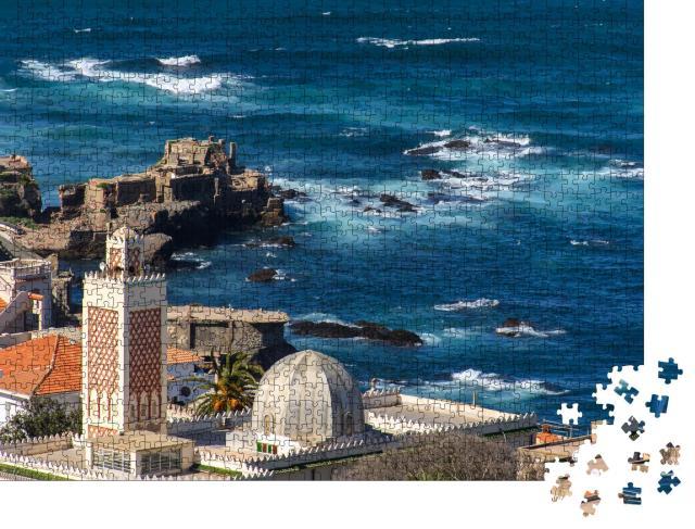 """Puzzle 1000 Teile """"Algier, Hauptstadt Algeriens an der Mittelmeerküste"""""""