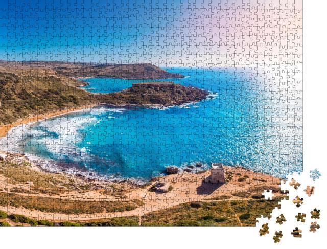 """Puzzle 1000 Teile """"Golden Bay auf Malta"""""""