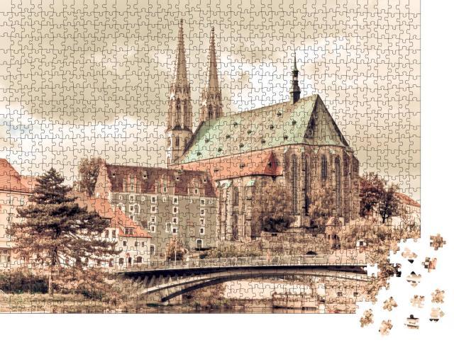 """Puzzle 1000 Teile """"Peterskirche in Görlitz, Deutschland"""""""