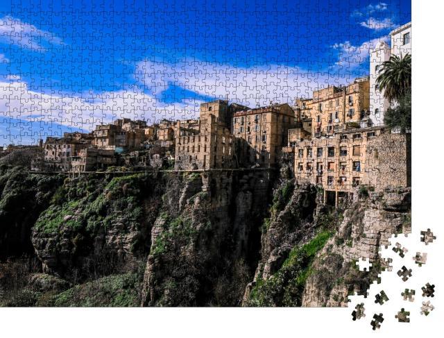 """Puzzle 1000 Teile """"Stadt und natürliche Festung: Constantine, Algerien"""""""