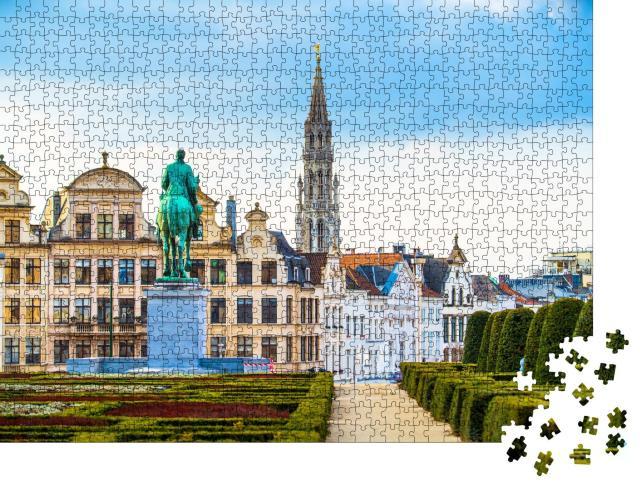 "Puzzle 1000 Teile ""Kunstberg oder Mont des Arts, Zentrum von Brüssel, Belgien"""