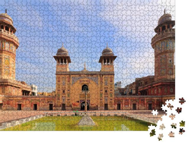 """Puzzle 1000 Teile """"Pakistan: Wazir Khan, eine Moschee"""""""