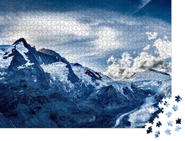 """Puzzle 1000 Teile """"Nationalpark Hohe Tauern mit Großglockner, Österreich"""""""