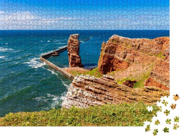 """Puzzle 1000 Teile """"Insel Helgoland im Frühling, Deutschland"""""""