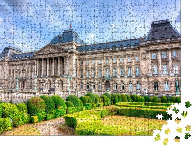 """Puzzle 1000 Teile """"Königlicher Palast von Brüssel, Belgien"""""""