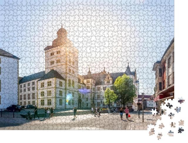 """Puzzle 1000 Teile """"Altstadt von Paderborn, Deutschland"""""""