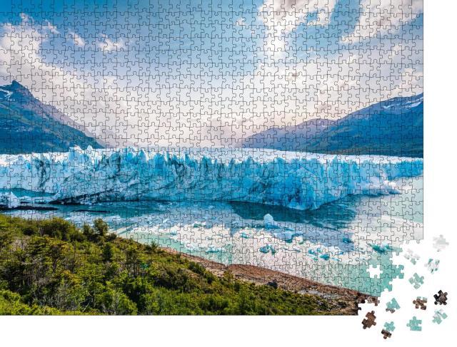 """Puzzle 1000 Teile """"Eis am Perito-Moreno-Gletscher, Patagonien, Argentinien"""""""