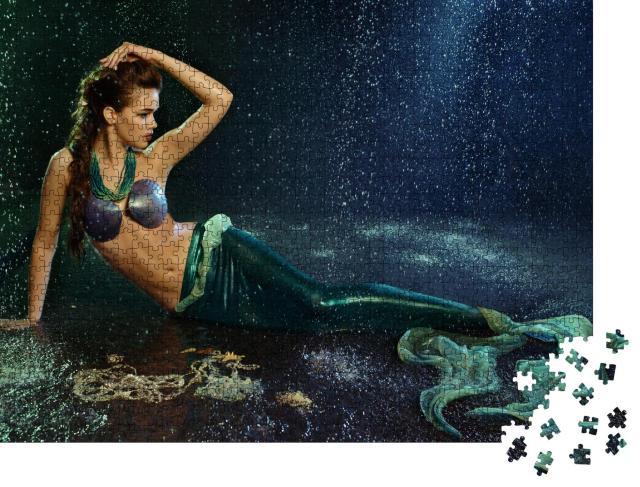 "Puzzle 1000 Teile ""Bezaubernde Meerjungfrau"""