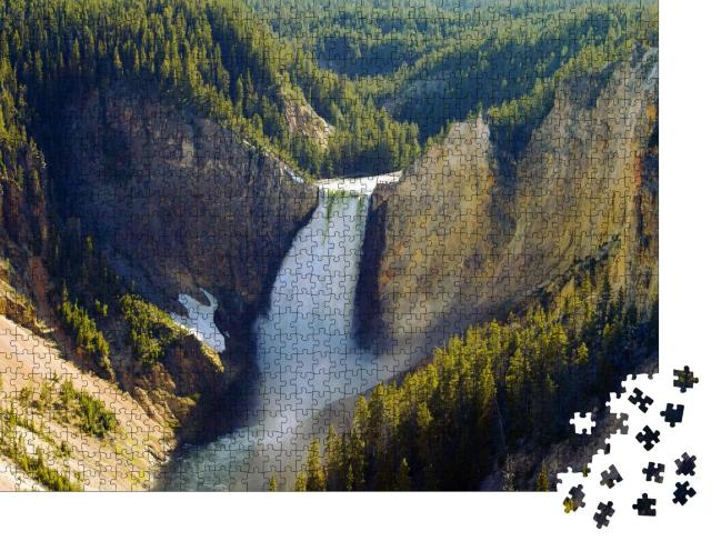 """Puzzle 1000 Teile """"Grand Canyon des Yellowstone Nationalparks"""""""