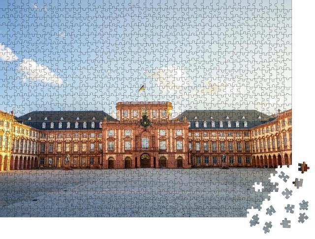 """Puzzle 1000 Teile """"Universität Mannheim"""""""
