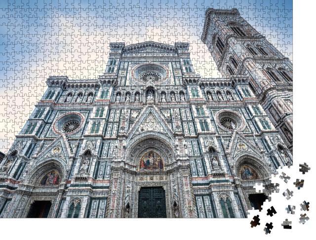 """Puzzle 1000 Teile """"Kathedrale Santa Maria del Fiore auf der Piazza del Duomo in Florenz"""""""