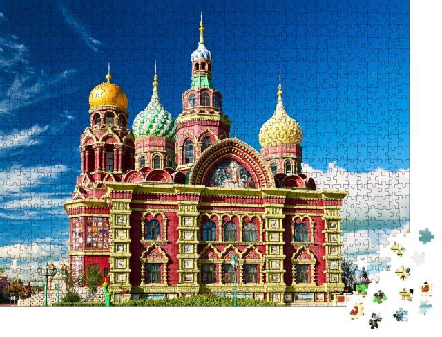 "Puzzle 1000 Teile ""Architektur in der Mongolei, China"""