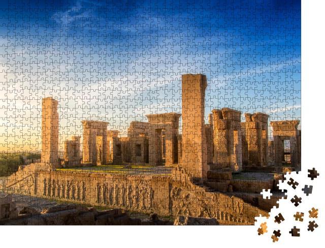 """Puzzle 1000 Teile """"Die Historische Stadt Persepolis, 60 km von Shiraz im Iran"""""""