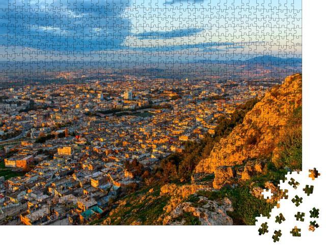 """Puzzle 1000 Teile """"Tlemcen, Stadt im Nordwesten Algeriens"""""""