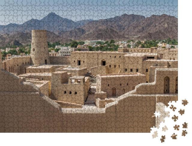 """Puzzle 1000 Teile """"Ansicht von Bahla Fort, Oman"""""""