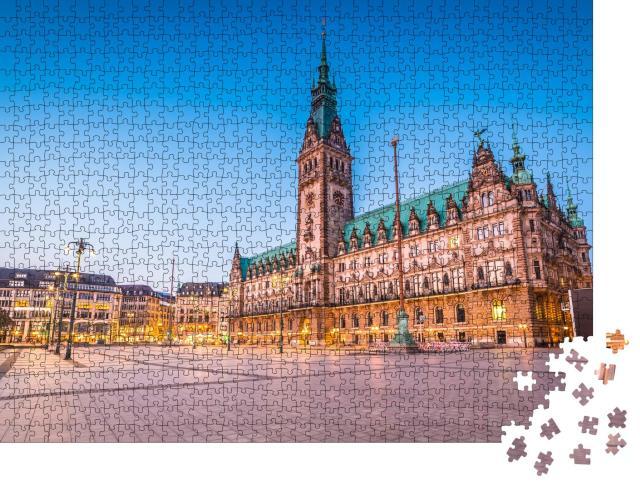 """Puzzle 1000 Teile """"Hamburg, Deutschland"""""""
