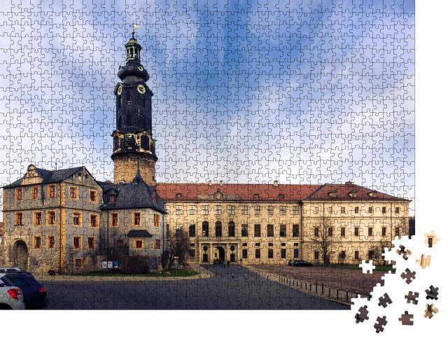 """Puzzle 1000 Teile """"Schloss Weimar, Thüringen, Deutschland"""""""
