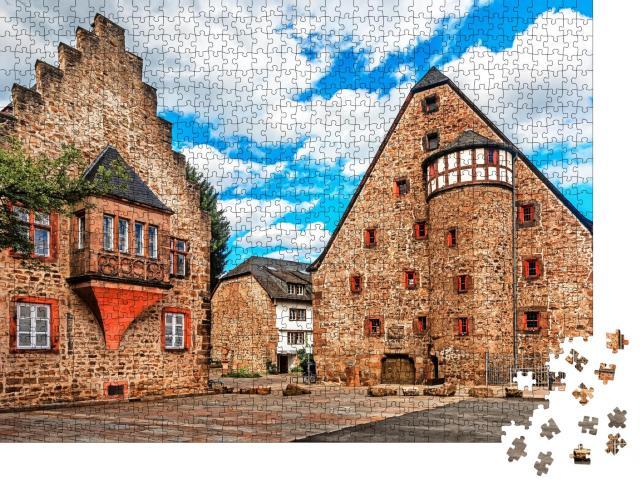 """Puzzle 1000 Teile """"Historische Altstadt von Marburg"""""""