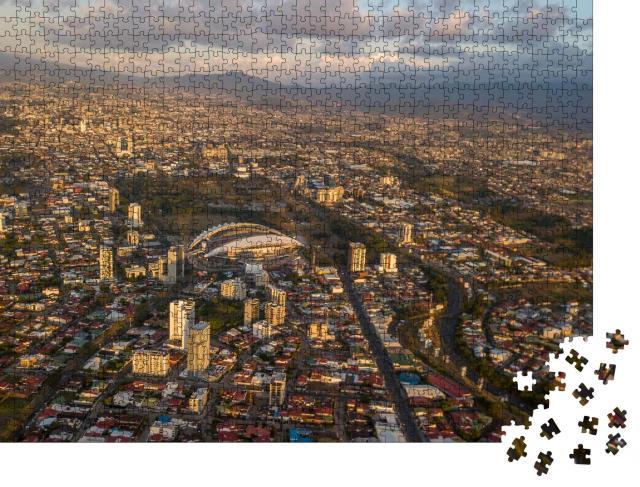 """Puzzle 1000 Teile """"Schöne Luftaufnahme der Sabana, San Jose, Costa Rica"""""""