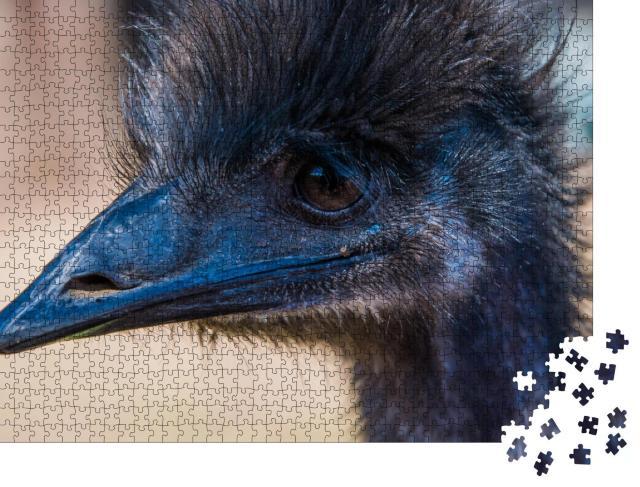 """Puzzle 1000 Teile """"Emu im Profil"""""""