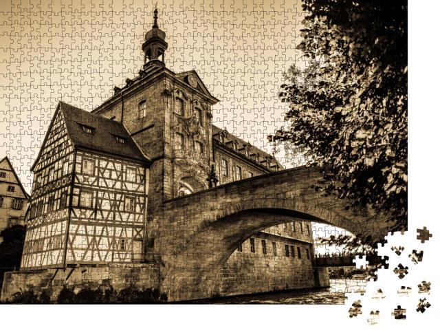 """Puzzle 1000 Teile """"Altes Rathaus von Bamberg, Deutschland"""""""