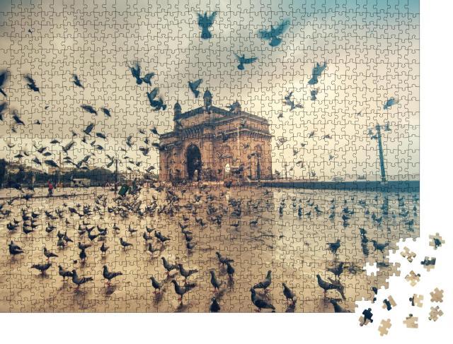 """Puzzle 1000 Teile """"Gateway of India, Mumbai, Indien"""""""