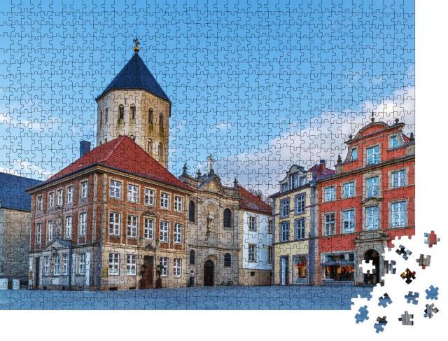 """Puzzle 1000 Teile """"Marktplatz Paderborn"""""""