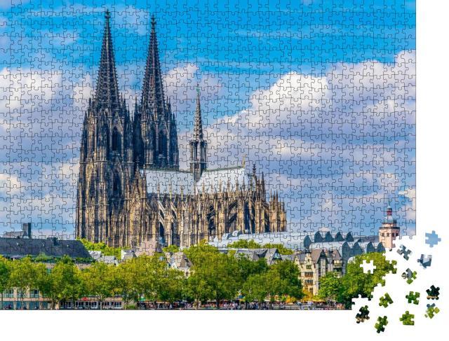 """Puzzle 1000 Teile """"Prachtvoller Dom in Köln, Deutschland"""""""