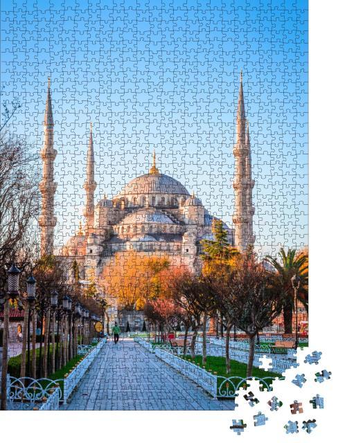 """Puzzle 1000 Teile """"Blaue Moschee von Istanbul"""""""