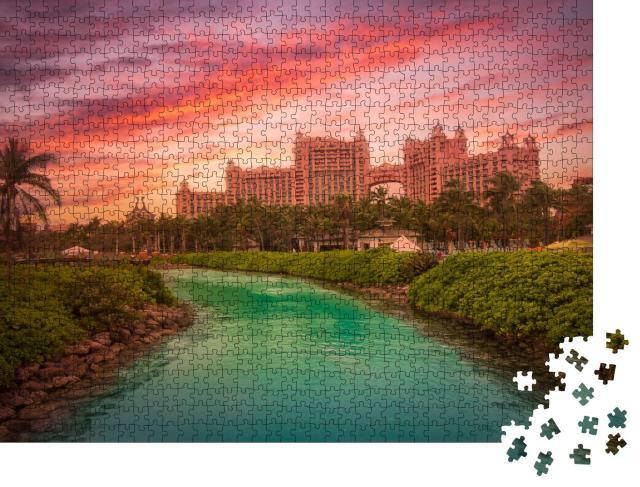 """Puzzle 1000 Teile """"Paradise Island, Bahamas"""""""