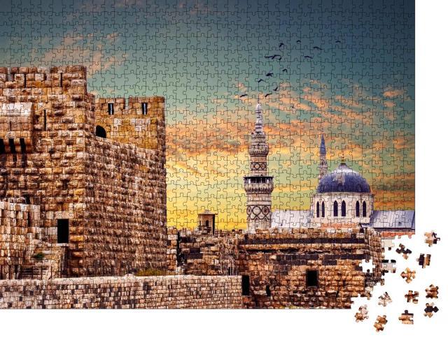 """Puzzle 1000 Teile """"Große Umayyaden-Moschee in Damaskus, Syrien"""""""