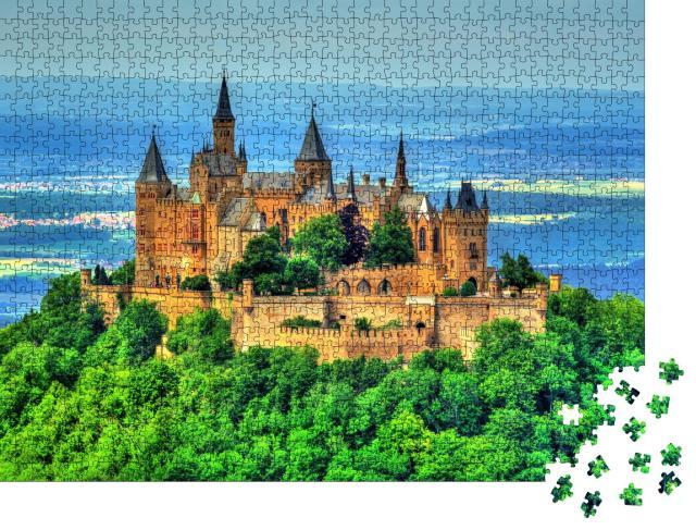 """Puzzle 1000 Teile """"Burg Hohenzollern auf der Schwäbischen Alb"""""""
