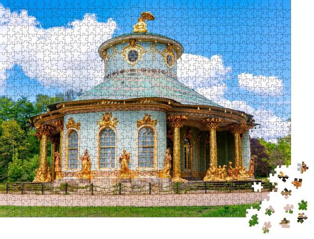 """Puzzle 1000 Teile """"Chinesisches Teehaus, Park Sanssouci, Potsdam, Deutschland"""""""