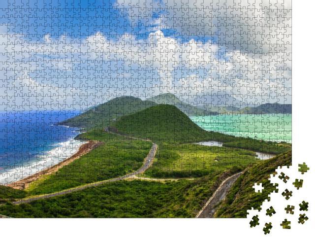 """Puzzle 1000 Teile """"St. Kitts und Nevis, Karibik"""""""