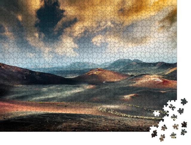 """Puzzle 1000 Teile """"Timanfaya-Nationalpark auf Lanzarote, Kanarische Inseln"""""""