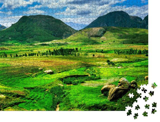 """Puzzle 1000 Teile """"Landschaft in Madagaskar, Afrika"""""""
