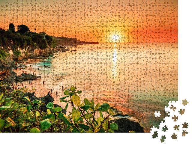 "Puzzle 1000 Teile ""Paradies in den Tropen, Pantai Strand Bali, Indonesien"""