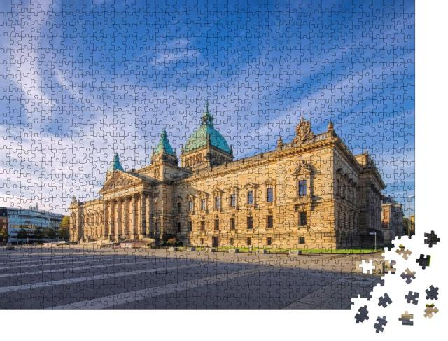 """Puzzle 1000 Teile """"Bundesverwaltungsgericht Leipzig"""""""