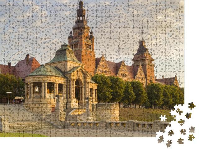 """Puzzle 1000 Teile """"Terrassen von Stettin, Szczecin, Polen"""""""