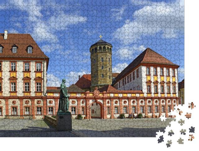 """Puzzle 1000 Teile """"Altes Schloss von Bayreuth: Wagner Festspiele in Bayern, Deutschland"""""""