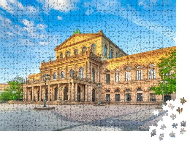 """Puzzle 1000 Teile """"Staatsoper Hannover, Niedersachsen, Deutschland"""""""