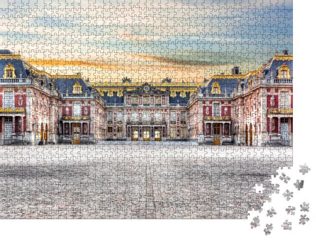 """Puzzle 1000 Teile """"Schloss Versailles außerhalb von Paris"""""""
